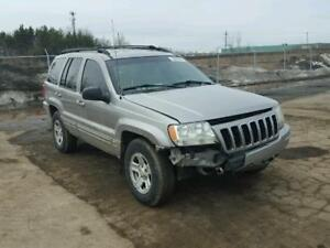 parting out 2001 grand cherokee