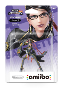 Bayonetta Player 2 Amiibo - unopened