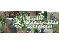 Cardiff Conservation Volunteers - Learn, get fit, get involved!