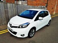 2014 Toyota Yaris 1.0 VVT-i ( 69bhp ) Icon+ Only 17k VAT Q 5 Years Warranty