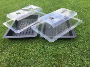 Seed Trays with Dome