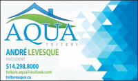 Roofing Service by Toiture Aqua