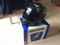 Shark S900 Helmet - Size M, Black, Tinted visor, Pinlock and more