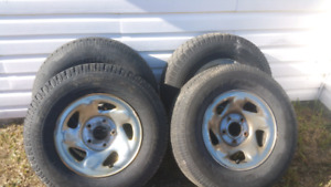 Tire and rims for dodge ram