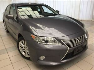 2013 Lexus ES 350 Leather Package: 1 Owner, Navigation.