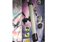 Refractor telescope barely used if at all