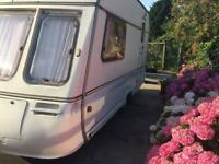2 berth swift caravan