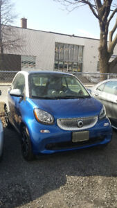 2016 Smart Fortwo Passion Coupe (2 door)