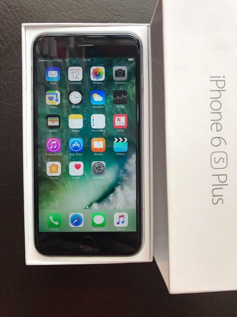 iPhone 6S PLUS128 GB used but in pristine condition Available in Space Grey Colourin Kilburn, LondonGumtree - iPhone 6S PLUS 128 GB Available in Space grey Colour. It has a minor hairline crackAs you can see in the pic but doesnt effect the use of the phone. Box Contains;iPhone 6s Plus Apple EarPods with Remote and Mic Lightning to USB Cable USB Power Cable....