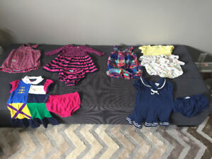 Baby Girl RALPH LAUREN gorgeous outfits EUC/ almost brand new
