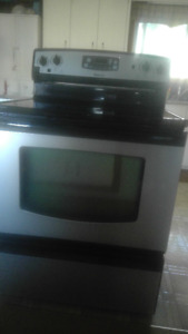 "30"" SMOOTH TOP ELECTRIC STOVE"