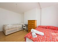 Gorgeous twin room in Ponsonby House, E2, bills included