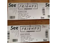 2 x Friendsfest tickets - Cardiff 27th July