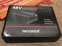 Brand new Neewer 48V power supply