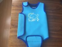 JOJO MAMAN BEBE Baby Wetsuit ( Size 6-12 months) in excellent condition (RRP £19)