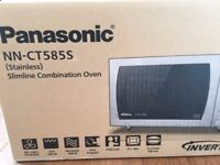 New (still in box) - Panasonic NN-CT585S Freestanding Combination Microwave, Stainless Steel