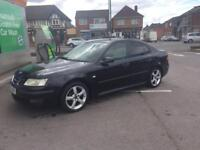 STUNNING CONDITION JET BLACK SAAB 9/3 VECTOR 1.8i 125BHP 4dr SALOON 2005(54)