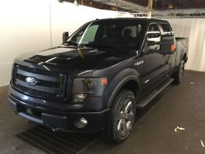2013 Ford F-150 FX4 LUXURY CREW ECO BOOST MAGS 20 CUIR A VENIR