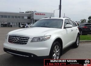 2007 Infiniti FX35 AWD |Leather|Roof|AS-IS SUPERSAVER|
