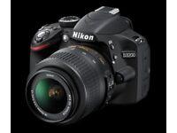Nikon D3200 24.2 MP Digital SLR Camera with 18-55mm lens (£170 ONO)