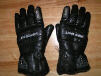 Motor cyclists Akito Supersport riding gloves, Size XL