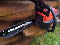 """MOUNTFIELD MC 3720 16"""" PETROL CHAINSAW BNIB Only opened for photos"""