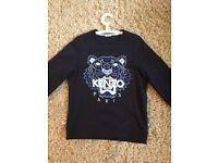 Kenzo Jumper Medium (Navy) 100% authentic, reason for selling- size too big