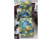 Reclining Garden Chair £5