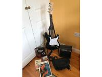 Evolution Adult Electric Guitar Starter Pack