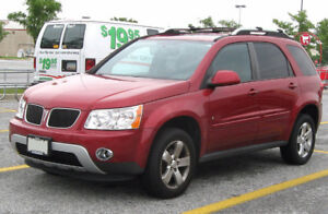2009 Pontiac Torrent PARTS FOR SALE- ENGINE+ TRANNY INCLUDED