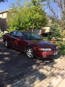 2001 Oldsmobile Alero  (winter tires included) AS-IS