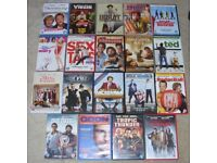 Comedy DVD Bundle X 19 - TED Hangover 2 SEX TAPE Goon DUE DATE & more