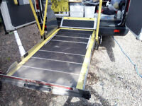 Under chassis Wheelchair lift for Van/Motorhome