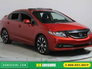 2013 Honda Civic Si A/C BLUETOOTH TOIT