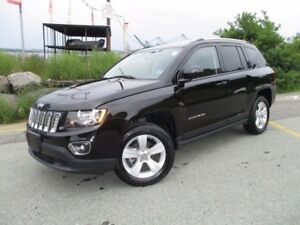 2016 Jeep COMPASS High Altitude (4X4, HEATED LEATHER SEATS, MOON