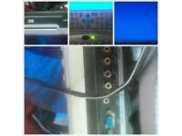 15 inch dvd tv no free view good for kids room