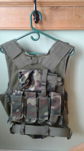 paintball/airsoft Camo Vest