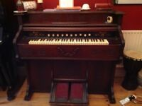 Small pedal organ (harmonium) from a welsh chapel