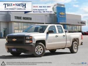 2014 Chevrolet Silverado 1500 WT RWD - 4.2 Colour Screen