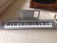 Yamaha portable grand np-30 Keyboard with stand