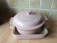 Gorgeous Pale Pink Le Creuset Cookware