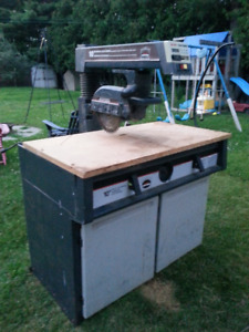 "Radial Saw, 10"", Electronic, Sears / Craftsman, Used"