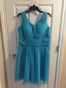 Plus size bridesmaid dress