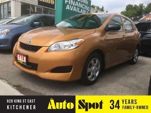 2009 Toyota Matrix PRISTINE VEHICLE/PRICED FOR A QUICK SALE!