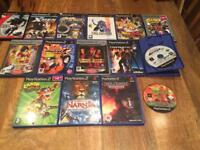 PlayStation 2 Console and 16 PS2 Games.