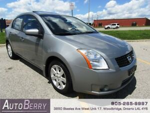 2008 Nissan Sentra 2.0 ***ACCIDENT FREE ** CERTIFIED*** $4,999