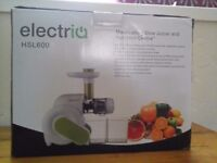 Slow Juicer high quality with BPA Free plastic