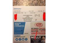 EMinem ticket printed and delivered Glasgow