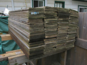 Used Pressure Treated (1 x 6)  4' & 5' Fence Boards
