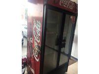 Coca Cola Double Door Fridge
